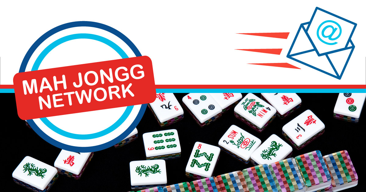 Subscribe to the Mah Jongg Network Email Update.