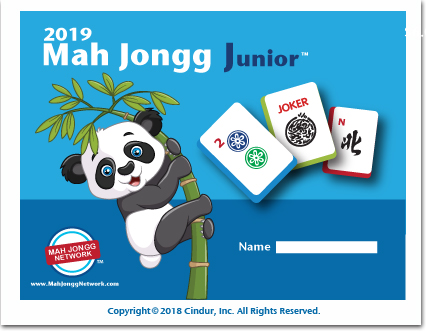 2019 Mah Jongg Junior Card